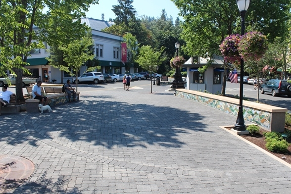 The Plaza in Downtown Ashland